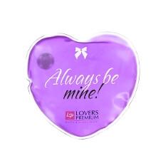 """Massage-Herz """"Heiße Liebe"""", lila für erotische Massagen"""