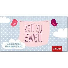 """Gutscheinbuch """"Zeit zu Zweit"""""""