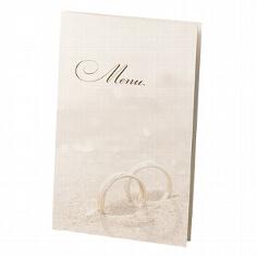 """Menükarte """"Glenna"""" für Ihre Hochzeitsfeier"""