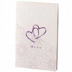 """Menükarte """"Mabel"""" zur Hochzeit"""