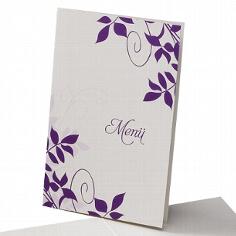 Menükarte Ute für Ihre Hochzeitsfeier