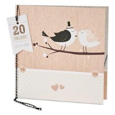 Hochzeitseinladung mit Vogelmotiv