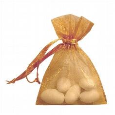 Organzasäckchen karamell