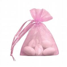 Organzasäckchen rosa