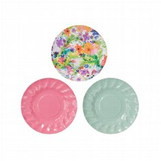 "Papierteller ""Floral"" - bunte Teller"