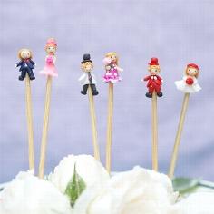 Zahnstocher für die Hochzeitsfeier