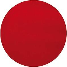 Platzset Kreis aus rotem Vlies für die Hochzeitdeko