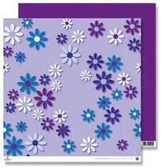 Scrapbooking-Karton Big Flowers