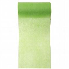Grünes Tischband aus Vlies zur Hochzeitsdekoration