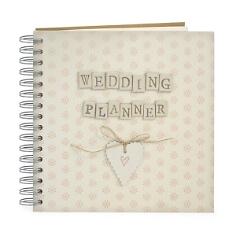 Spiralbuch Hochzeitsplaner, vintage