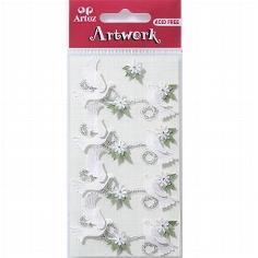 """Motiv-Sticker von Artoz """"Hochzeitstauben"""""""