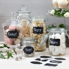 "Sticker ""Tafel"" zur Dekoration der Candy Bar"