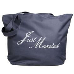 Strandtasche Just Married