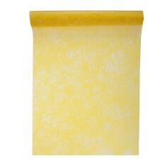 """Tischläufer """"Vlies"""", gelb"""