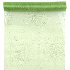 Tischläufer Glamour grün