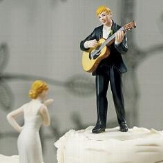 """Tortenfigur """"Liebeslied"""" für Ihre Hochzeit"""
