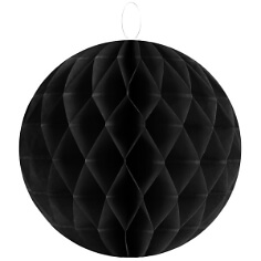 Wabenbaelle-30cm-schwarz