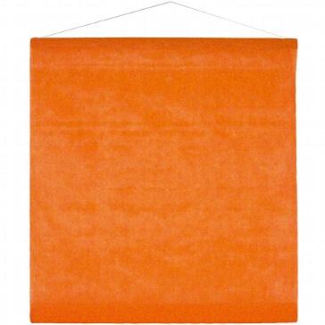 Dekorations-Banner in Orange aus Vlies zur Hochzeit