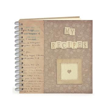 Hochzeitsgeschenk Rezeptbuch My Recipes