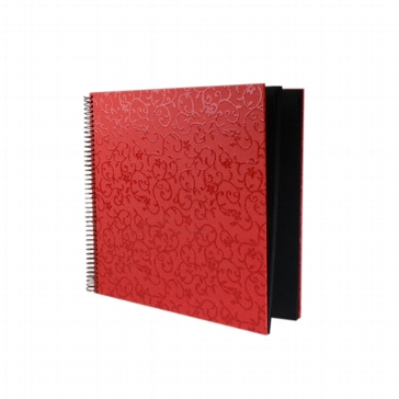 "Ringbuchalbum ""Faro"", klein, rot"