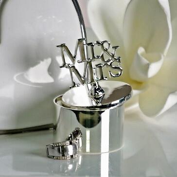 """Ringdose zur Hochzeit """"Mr & Mrs"""""""