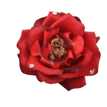 """6 Rosenblüten """"Glamour"""", rot"""