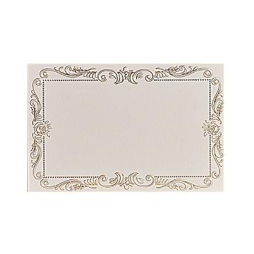 Dankeskarte zur Hochzeit in Gold