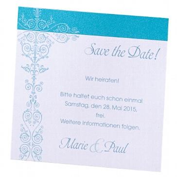 Save the Date Karte Ninni zur Hochzeit