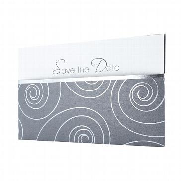 Save the Date Karte zur Hochzeit Hannah