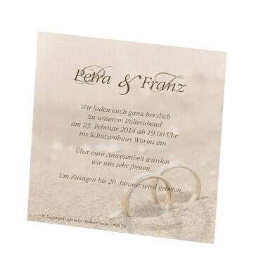 Save the Date-Karte Glenna für die Hochzeit