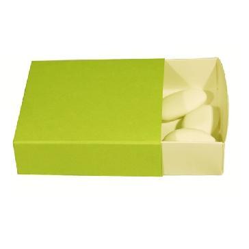 """Geschenkschachtel """"Uni"""" - grüne Schachtel für Gastgeschenke"""