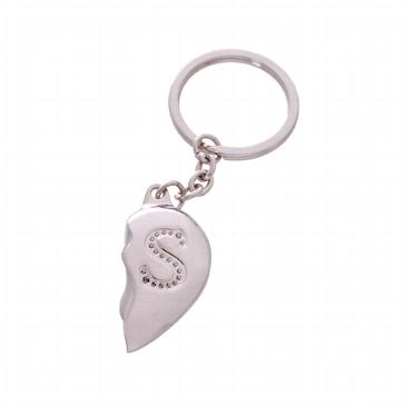 """Schlüsselanhänger """"Geteiltes Herz"""" - Geschenk für Männer"""