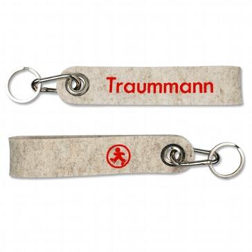"Schlüsselanhänger ""Traummann"" aus Filz"