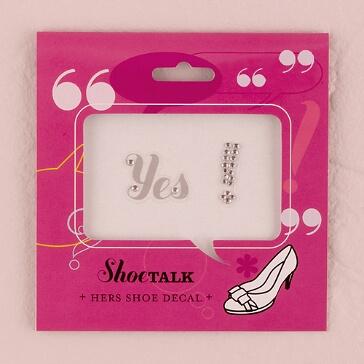 Schuhsticker YES! Brautschuhe