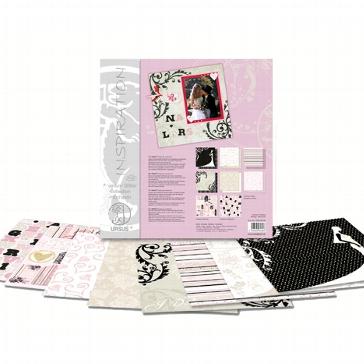 """Scrapbooking-Karton Set """"Hochzeit"""""""