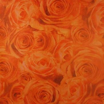 """Scrapbookpapier """"Rosen"""", apricot"""