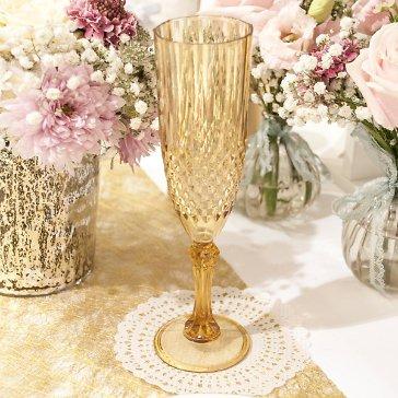 Deko Sektglas Hochzeit