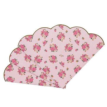 Servietten Kleine Rosen, rosa