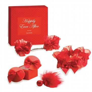 """Geschenke-Set """"Hochzeitsnacht"""" rot"""