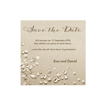 Safe the Date oder Dankeskarte Sophia