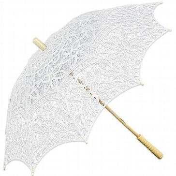 Schirm Europa, weiß