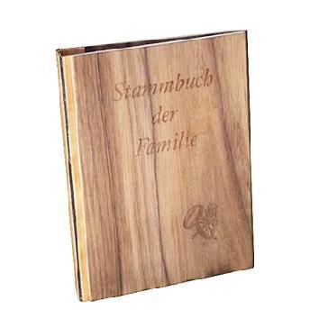 Stammbuch der Familie - Stammbuch in Holzoptik
