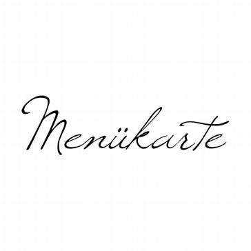 """Stempel """"Menükarte"""" - Trendiges für Menükarten"""