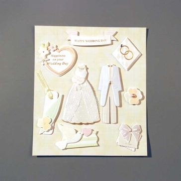 "Sticker 3D ""Wedding 3"""