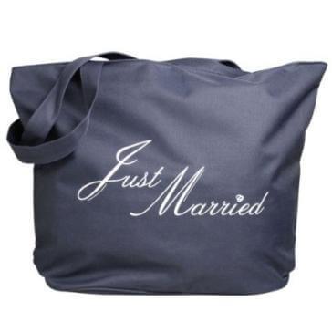 Strandtasche Just Married