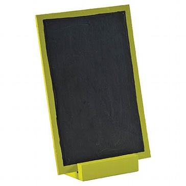 """Tischdeko Tafel """"Zu Tisch"""" grün"""