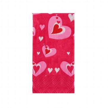 Taschentücher mit Herzmotiv