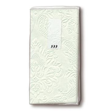 Taschentücher Ornament in Mint