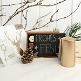 weihnachts-geschenkbox gold metallc