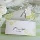 Hochzeitseinladung Tamara weiß-grün Detail 2